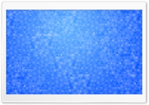 Blue Geometric Triangles...