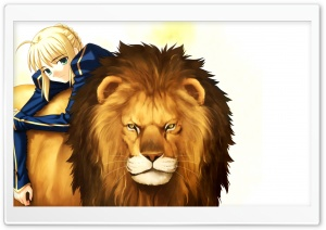 Girl With Her Lion Anime