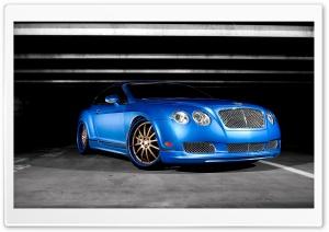 Bentley Continental GT Blue