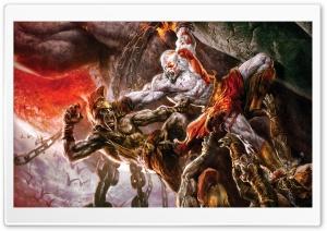 God Of War, Game Battle