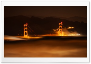 San Francisco in the Fog