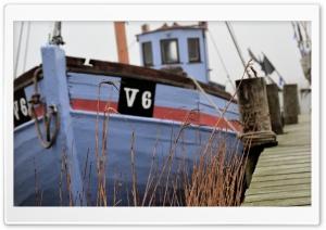Old fishing boat in Denmark