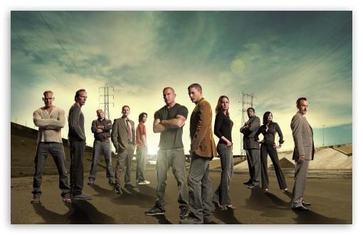 Download Prison Break Cast UltraHD Wallpaper