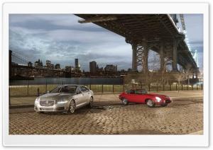 Jaguar XJ and E-type