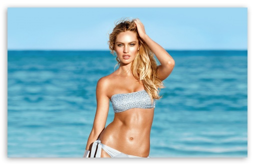 Download Candice Swanepoel Summer UltraHD Wallpaper