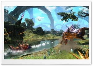 Avatar 3D 2009 Game Screenshot 2