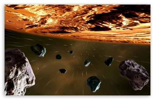 Download Meteorites UltraHD Wallpaper