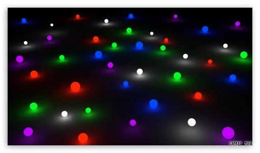 Download Glow Marbles UltraHD Wallpaper