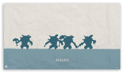 Download Meepo - DotA 2 UltraHD Wallpaper
