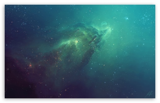 Download Ghost Nebula UltraHD Wallpaper