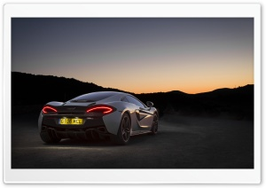 McLaren 570GT rear view