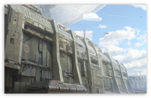 Download Destiny, City Wall UltraHD Wallpaper