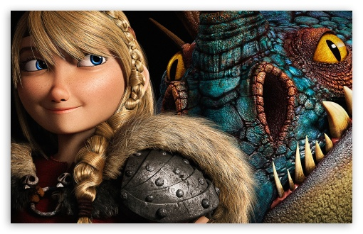 Download How To Train Your Dragon 2 Astrid UltraHD Wallpaper