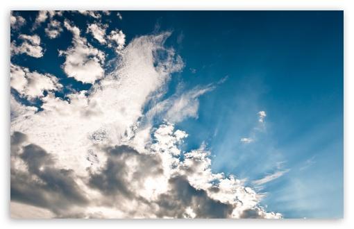 Download White Clouds UltraHD Wallpaper