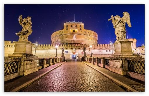 Download Castel SantAngelo Rome UltraHD Wallpaper