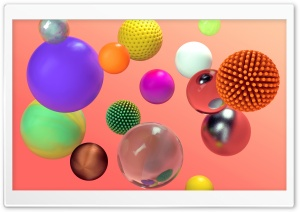 Colorful Spheres 3D