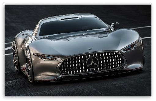 Download Mercedes Benz AMG Vision Gran Turismo Concept UltraHD Wallpaper
