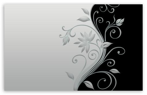 Download Beautiful Vector Flowers UltraHD Wallpaper