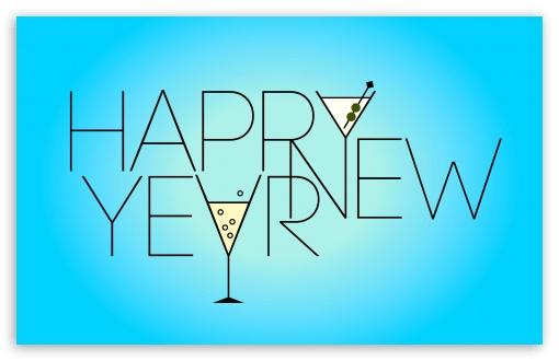 Download New Years Greeting 2013 UltraHD Wallpaper