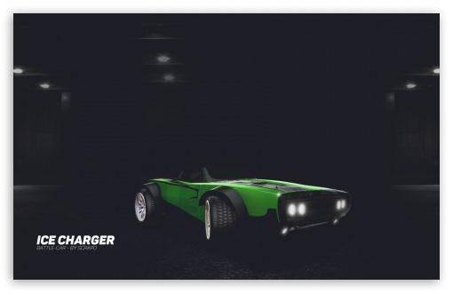 Download Rocket League - Ice Charger - Green UltraHD Wallpaper