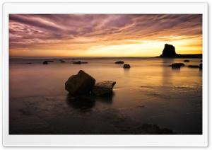 Saltwick Bay Beach Dawn