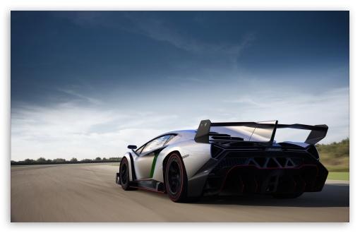 Download 2013 Lamborghini Veneno Speed UltraHD Wallpaper