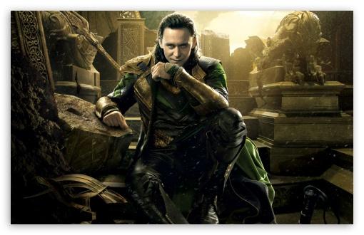 Download Thor 2 The Dark World Loki UltraHD Wallpaper