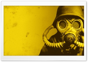 Gas Mask Solider