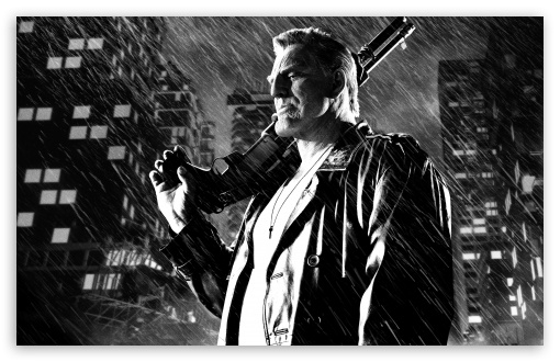 Download Sin City A Dame to Kill For Mickey Rourke as... UltraHD Wallpaper