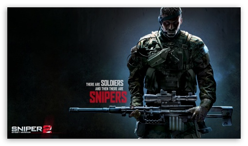 Download Sniper 2 UltraHD Wallpaper