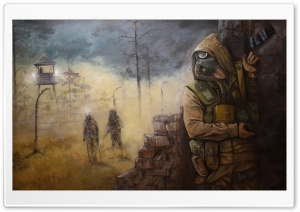 Stalker Video Game Soldiers