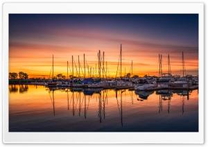 San Diego Harbor Sunset