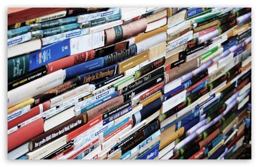 Download Books UltraHD Wallpaper
