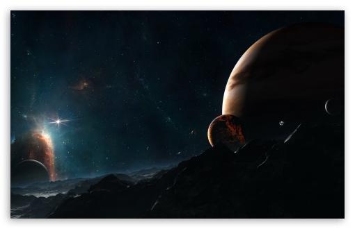 Download Distant Stars UltraHD Wallpaper