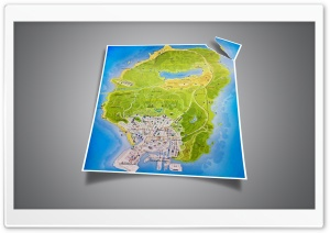 GTA 5 official map