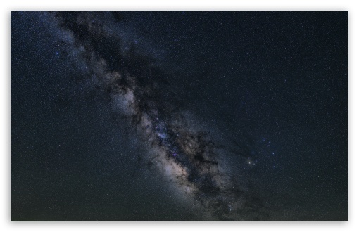 Download Milky Way Night Sky UltraHD Wallpaper