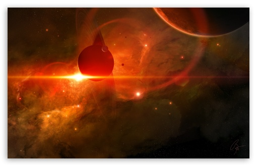 Download Space Art UltraHD Wallpaper