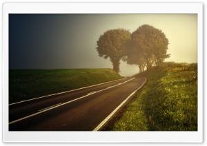 Road, Hill, Landscape