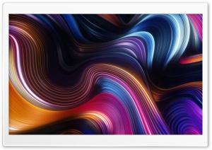 Abstract Wave Art Background