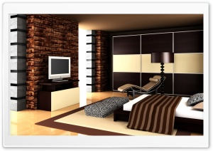 Brown Bedroom Design