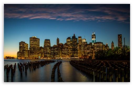 Download New York City Downtown UltraHD Wallpaper