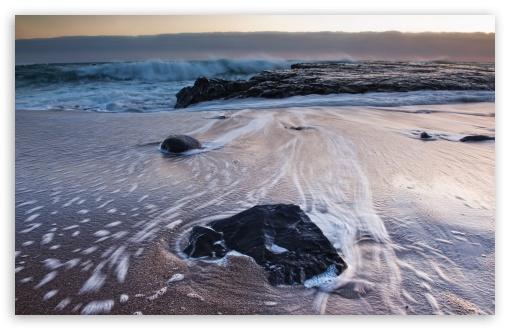 Download Sea Foam, Greyhound Rock County Park UltraHD Wallpaper