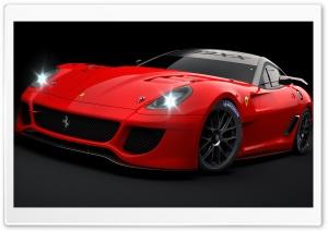 Ferrari 599XX Red