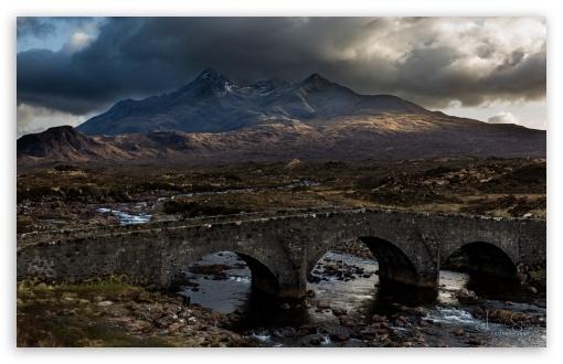 Download Cuillin Hills Mountain range, Isle of Skye,... UltraHD Wallpaper