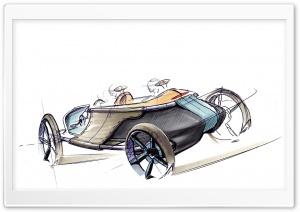 Toyota LRV Concept 2006 Sketch 2