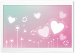 Pastel Valentine Hearts