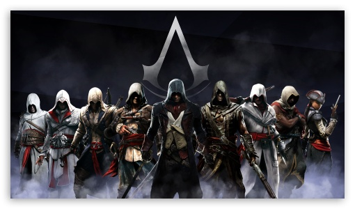 Download Assassins Creed Artwork Full HD UltraHD Wallpaper