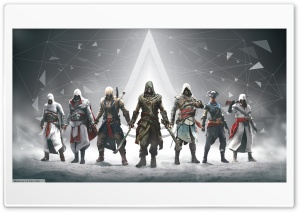 Assassins Creed All Character