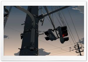 Traffic Lights Anime Scene
