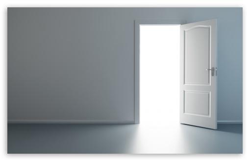 Download Open Door UltraHD Wallpaper